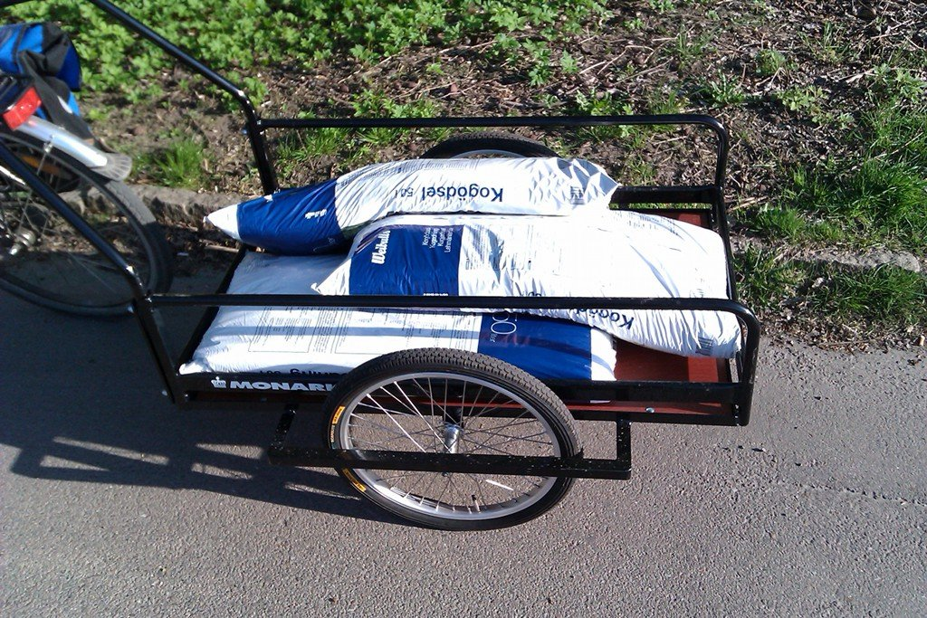 Bike Trailer Square Egg Concept Blog How To Build A Wood Twin Bed Frame