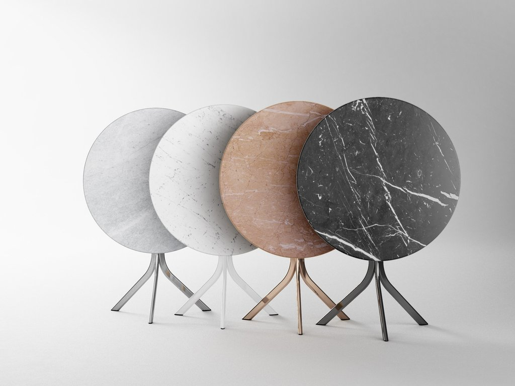 Bistro Marble Table Retegui Design Jean Loui Iratzoki How To Refinish Marble Table Tops