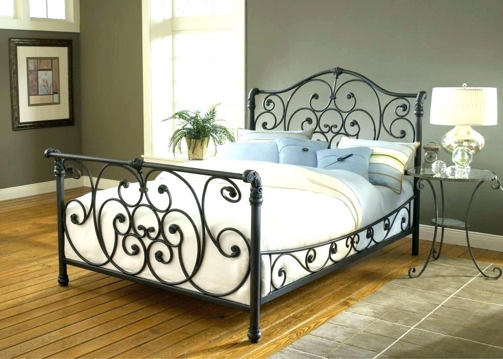 Black Iron Headboard Full Home Design Idea Paint On Iron Headboard