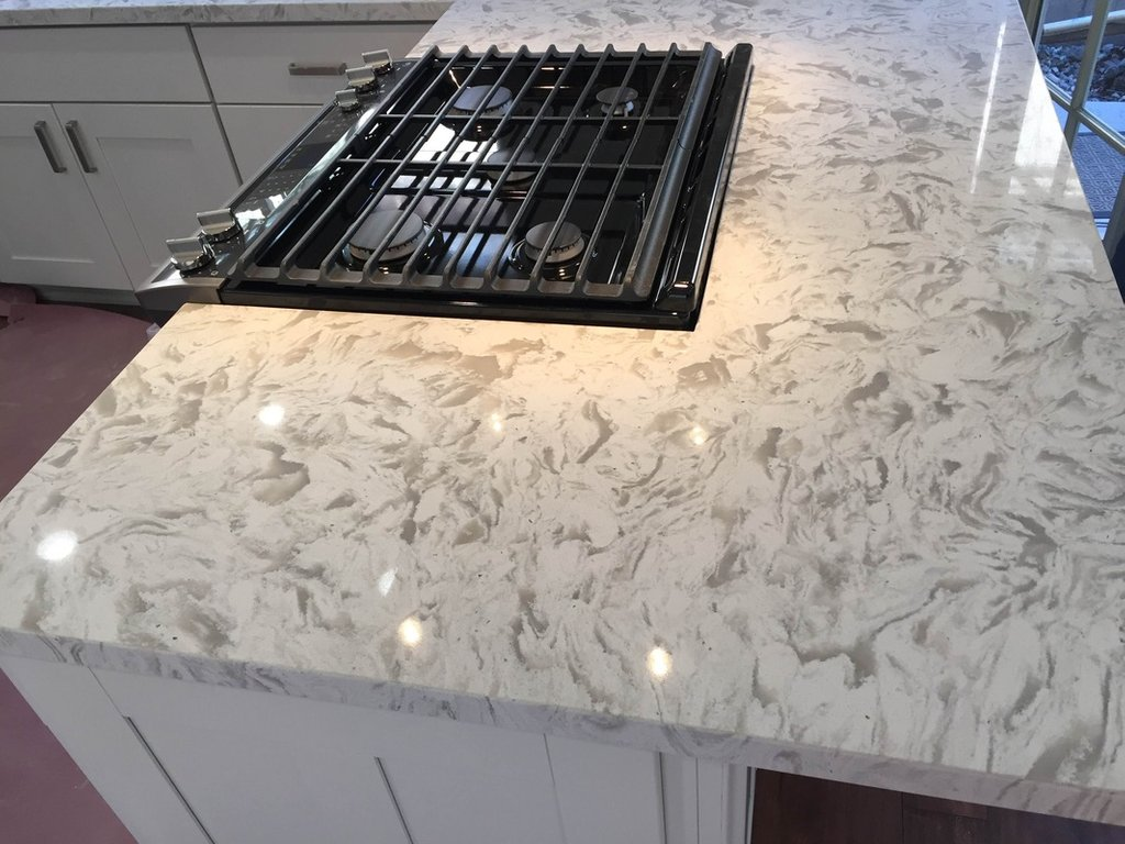 Blog Archive Kitchen Prefab Cabinets Rtum Kitchen Timeless White Quartz Countertops