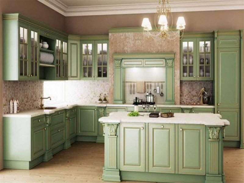 Bloombety Kitchen Cabinet Replacement Door Green How To Match Thermofoil Cabinet Doors