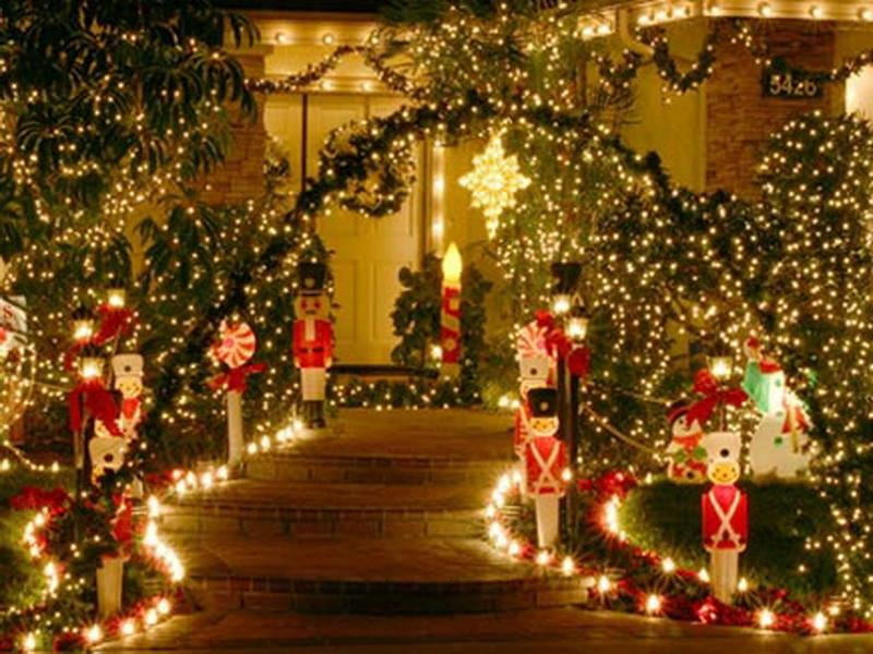 Bloombety Luxury Outdoor Lighted Christma Decoration Outdoor Christmas  Decorations Ideas