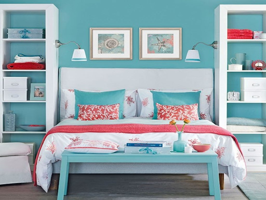 Bookcase Bed Head Dark Blue Coral Bedroom Blue Padded Headboard Ideas