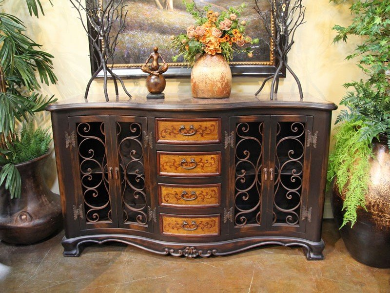 Buffets Console Cabinet Pottery World Color Design For House Interior Dining Room