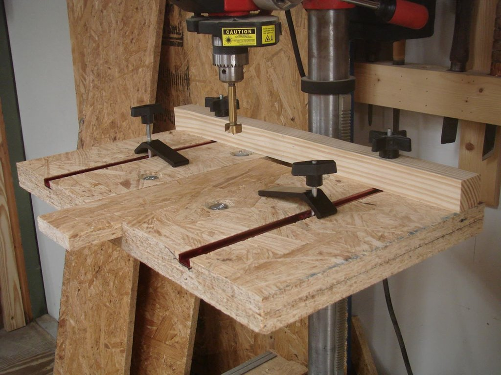 Build Great Drill Press Work Station Artistic How To Build Shaker Cabinet Doors Style
