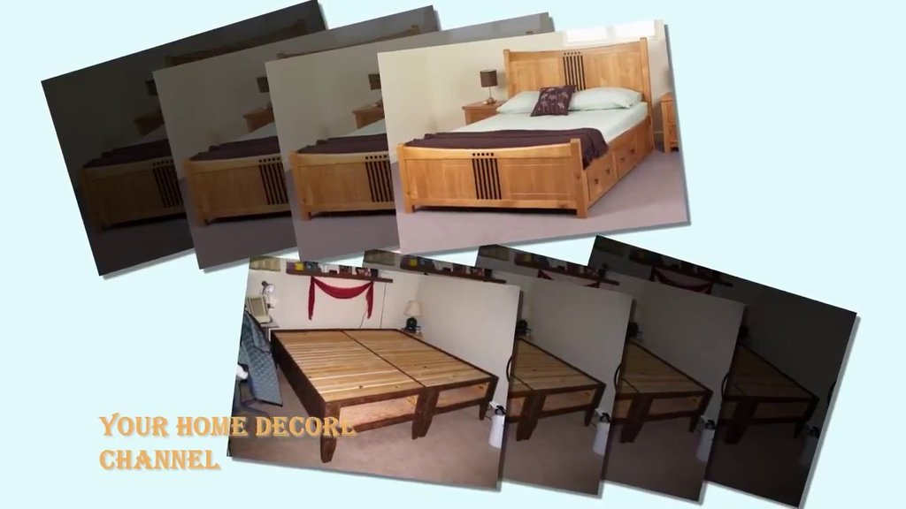 Build King Size Bed Frame Storage King King Size Bed Frame With Headboard