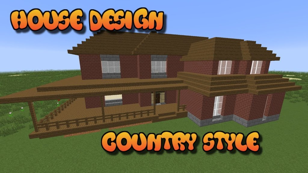 Build Perfect Minecraft Country House House Design Tiger Wood Flooring For A Warmer Home