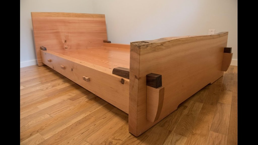 Build Simple Bed Cut Wood How To Build A Wood Twin Bed Frame