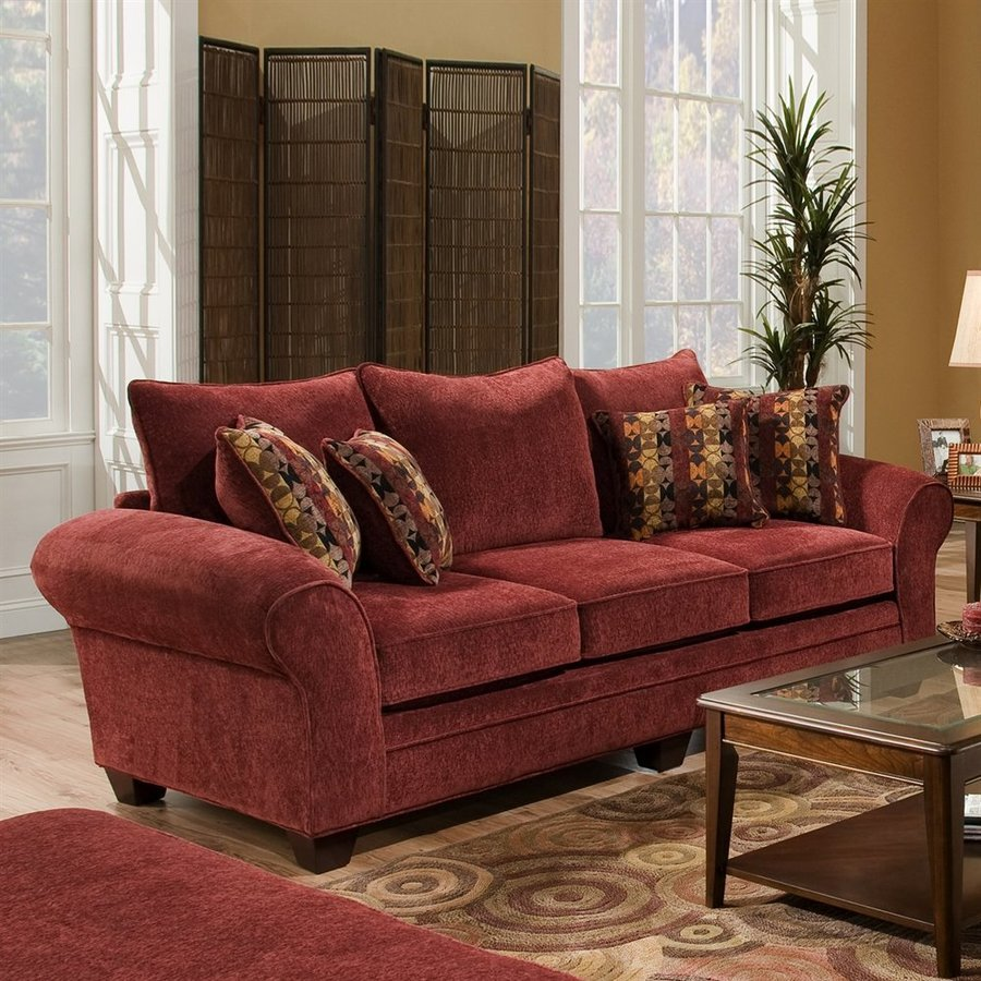 Decorating Burgundy Leather Sofa Loccie Better Homes