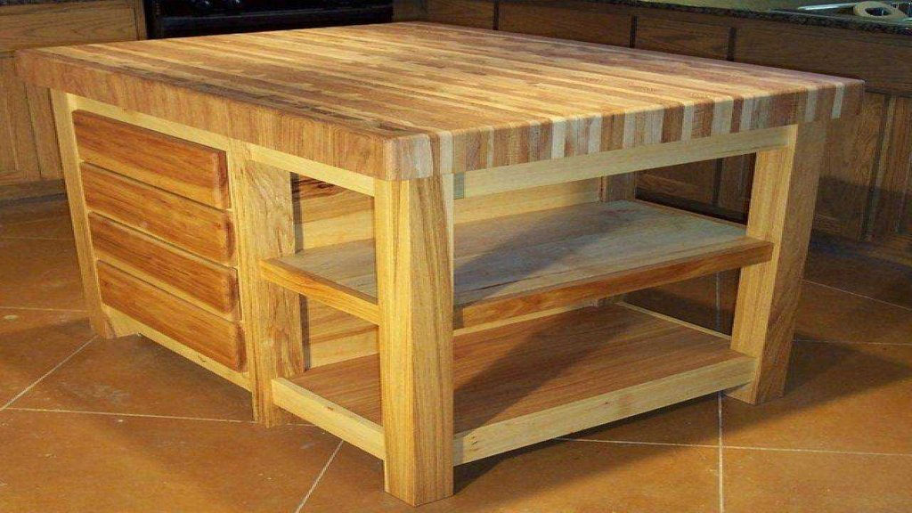 Refinishing Butcher Block Kitchen Table : Repainting Butcher Block Kitchen Table ? Loccie Better Homes Gardens Ideas