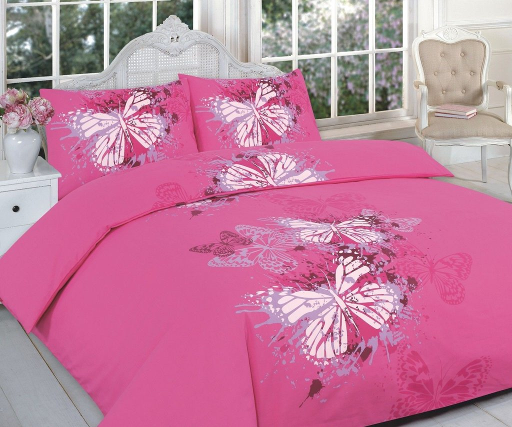 Butterfly Duvet Cover Set Pillow Case Printed Sofa Protector Home Ideas