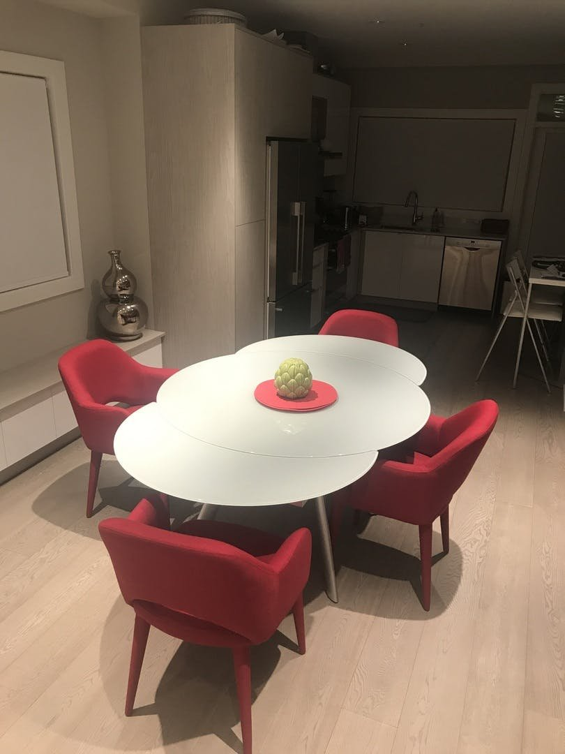 Butterfly Expandable Glass Dining Table Expand Extendable Dining Table Ideas