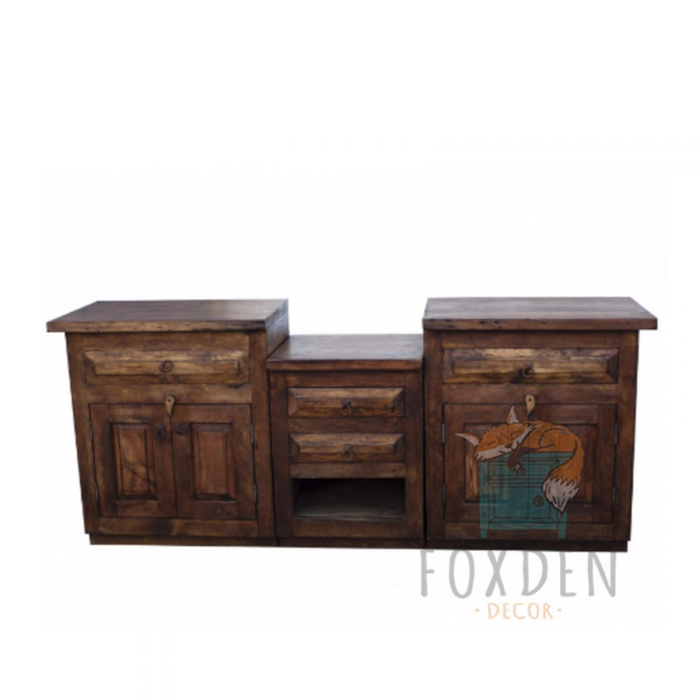 Buy Double Sink Vanity Reclaimed Wood Creative Reclaimed Wood Bathroom Vanity