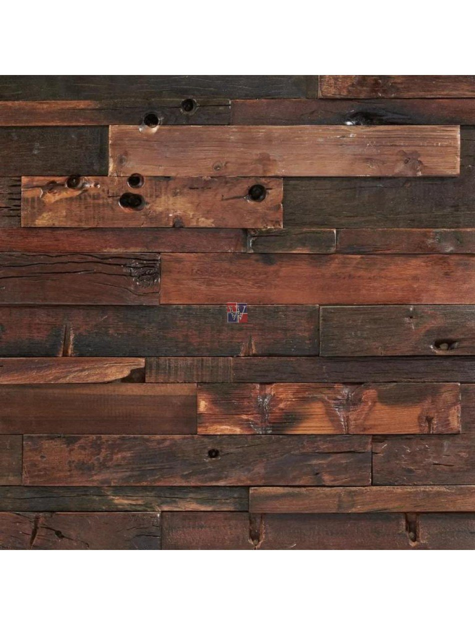 Buy Wood Mosaic Heritage 3d Antique Wood 12x24 Panel Wood Paneling Makeover Remodel