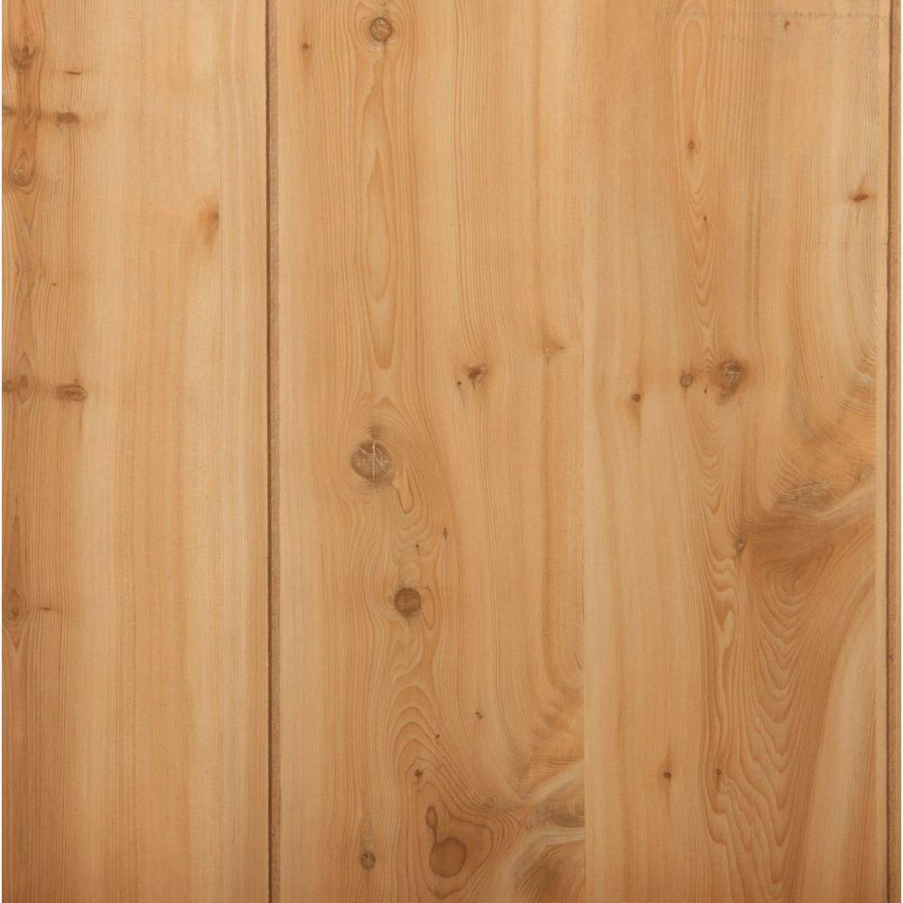 Canyon Yew 32 Sq Ft Mdf Paneling 96630 139 Home Depot Knotty Pine Laminate Flooring Remodeling Ideas