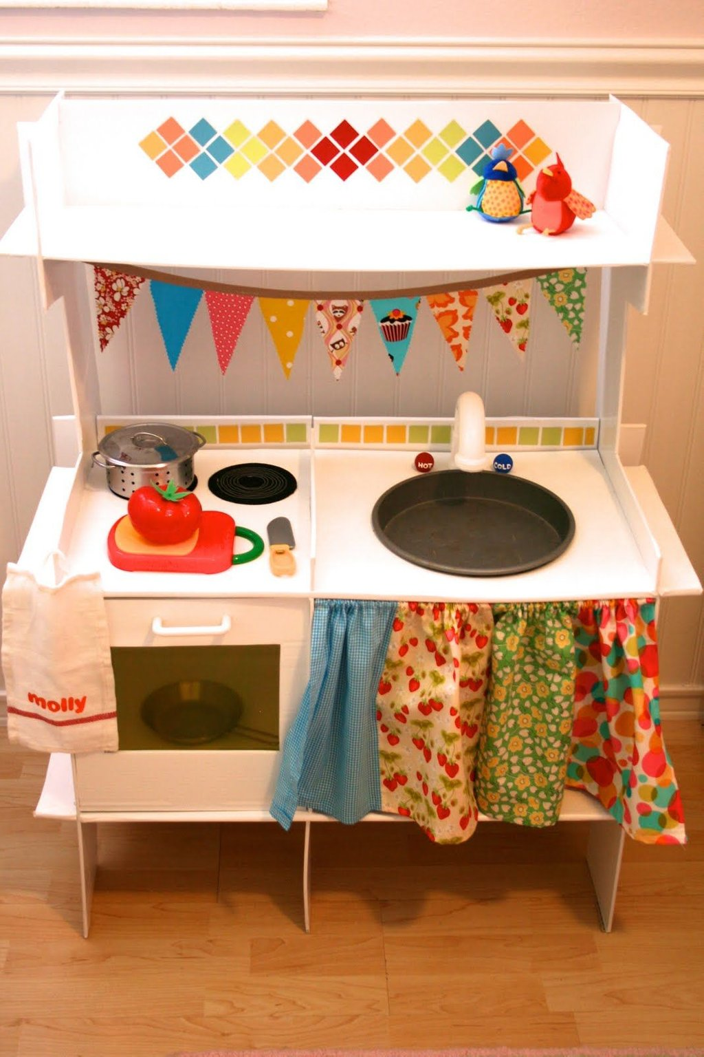 Cardboard Kitchen Forty Road Etsy Diy Wooden Kitchen Playsets For Childhood Education