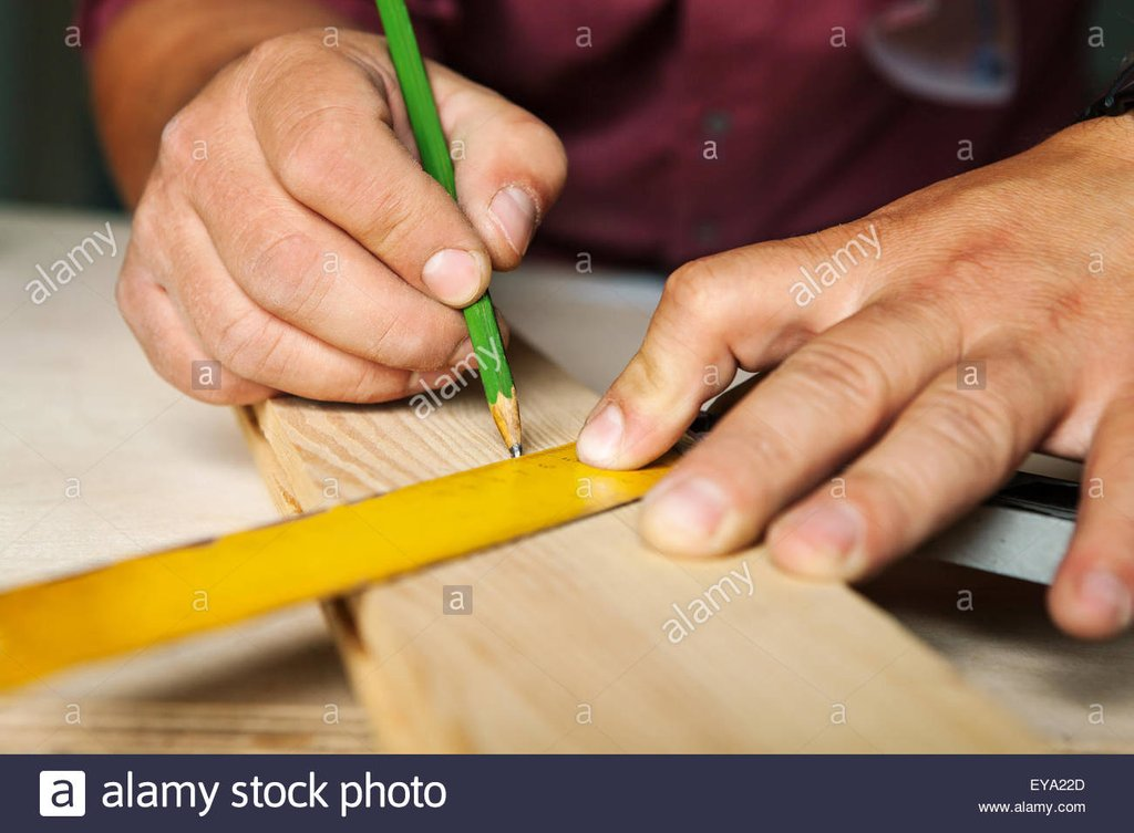 Carpenter Work Stock Photo Carpenter Work Stock How To Build A Wood Twin Bed Frame