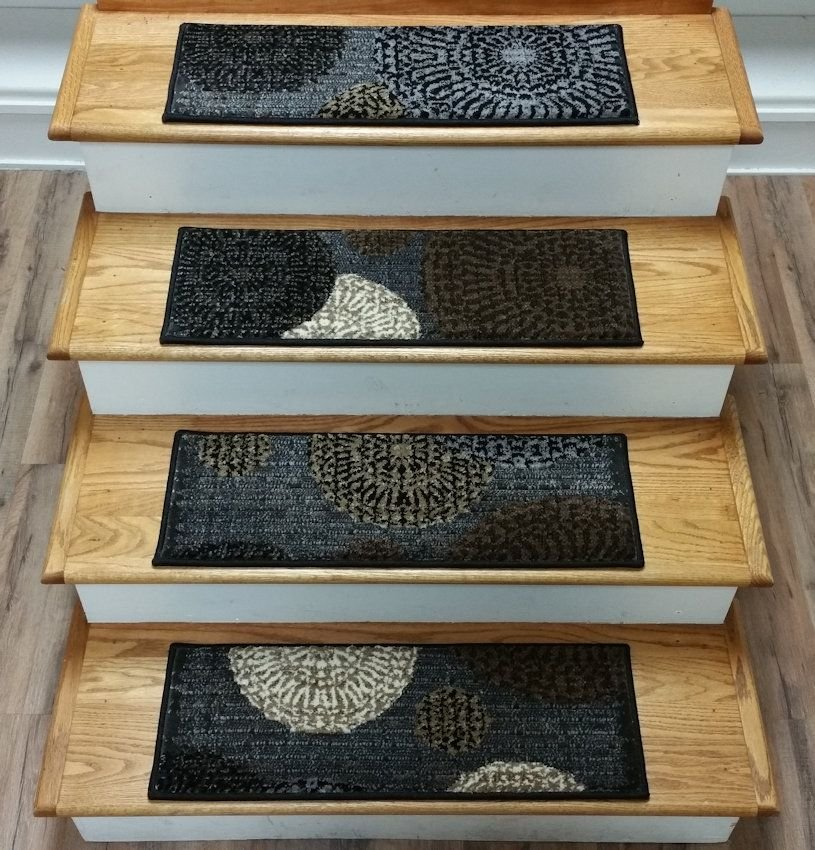 Carpet Stair Warm Stair Design Mahogany Tread Design Hardwood Stair Treads
