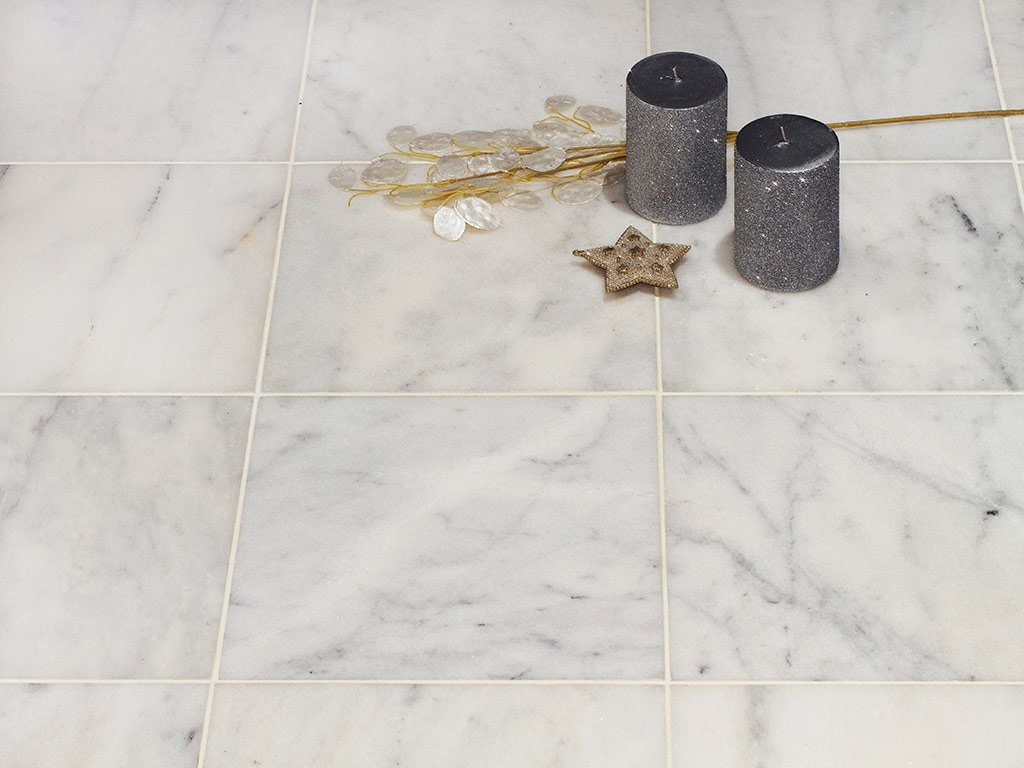 Carrara Marble Polished Travertine Store Carrara Marble Tile White Color