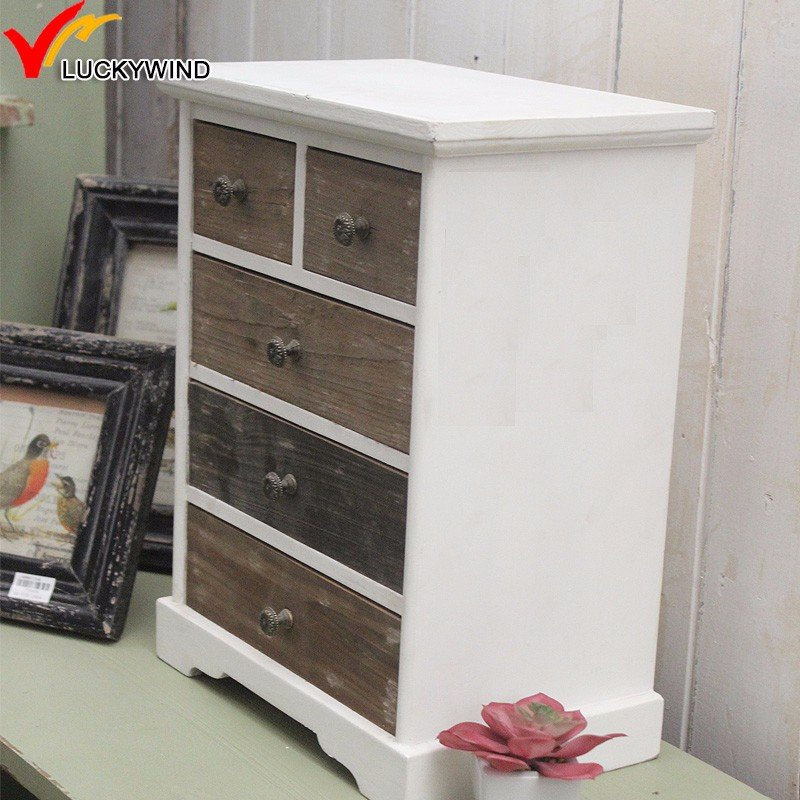 Cevre Dostu 4 Katmanli Eski Antika Rustik Uecue Ahsap Make Wooden Narrow Dresser Easier For The Drawer Slide