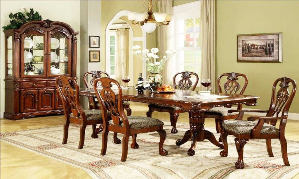 Charming Interior Dining Room Formal Set Classic Chandelier Color Design For House Interior Dining Room