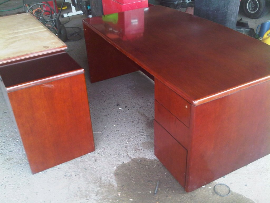 Cherry Wood Office Furniture Cherry Wood Office Desk High Reclaimed Wood Office Desk