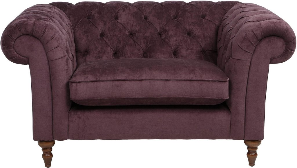 Chesterfield Luxuriou Velvet Fabric Loveseat 1 5 Seat Leather Sofa And Loveseat Covers