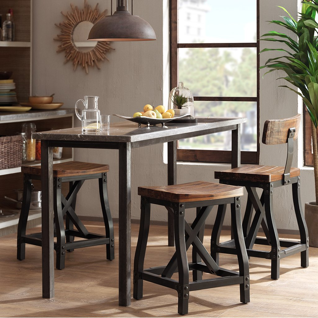 Cheyenne Counter Height Bar Stool Rustic Counter Ideas Kitchen Counter Stools