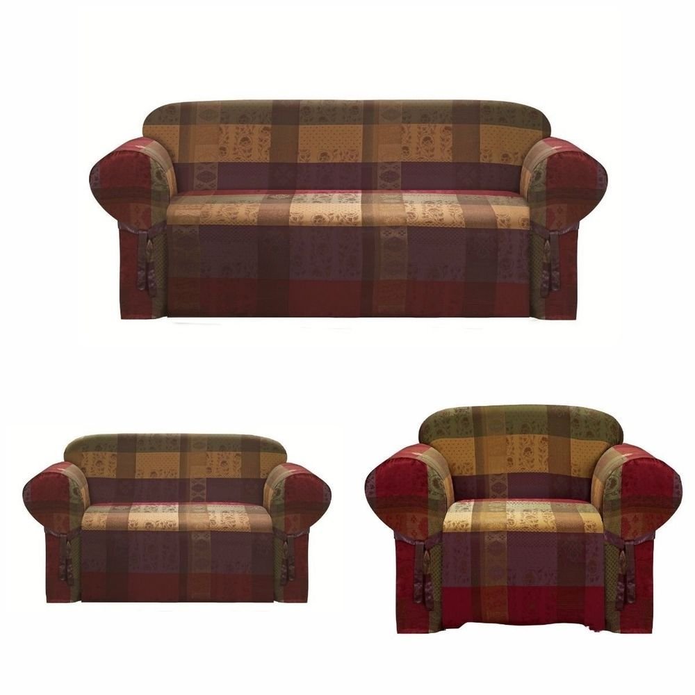 Chezmoi Collection Heavy Duty Jacquard Sofa Loveseat Chair How A Reclining Sofa To Function Properly