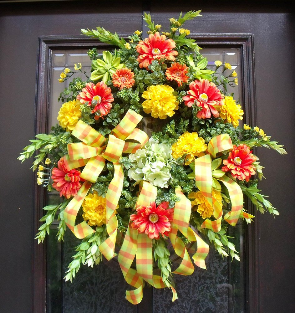 Chirstma Outdoor Wreath Front Door Artsnola Home Considering For Square Bistro Table