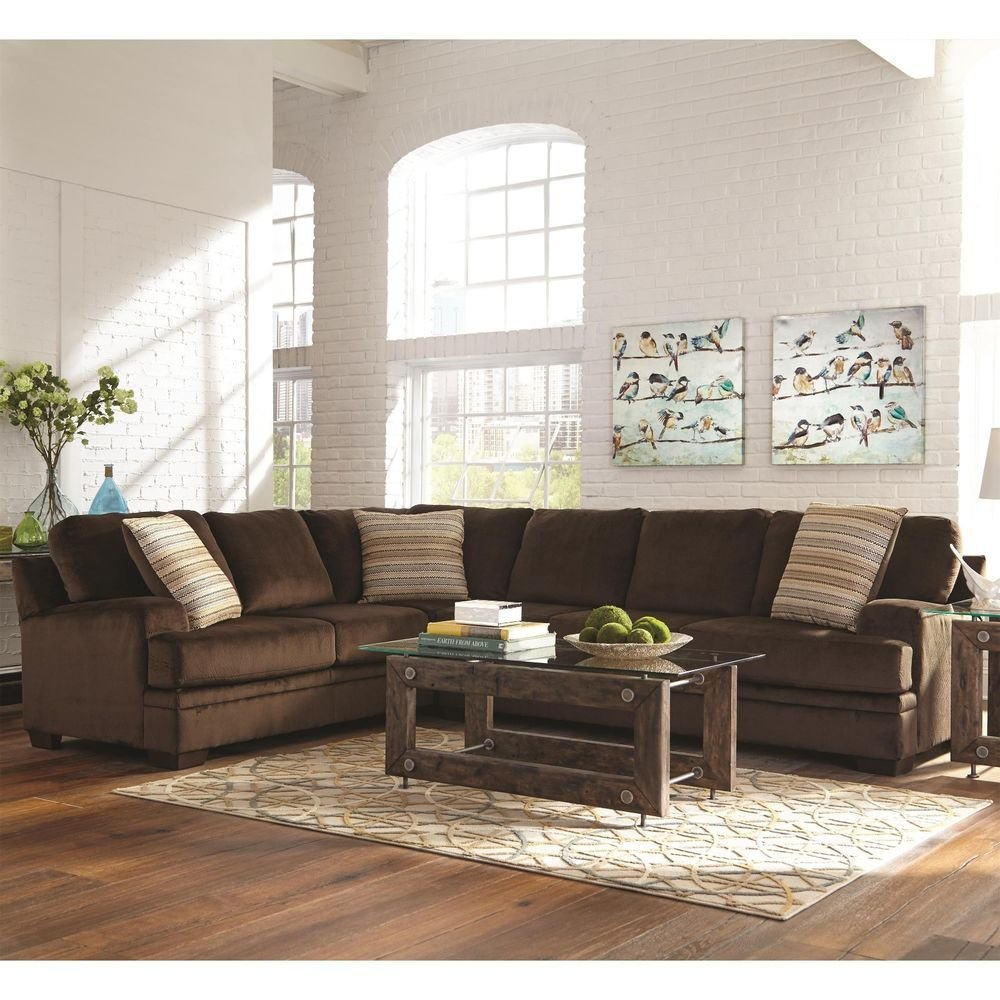 Chocolate Brown Textured Velvet Corner Sofa Sectional So Many Choice Of Sleeper Sofa Sectional