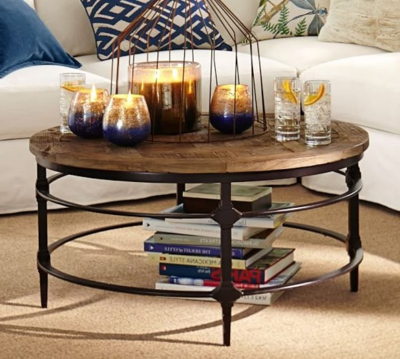 Coffee Table Diffent Shape Pottery Barn The Advantages Of A 60 Inch Round Dining Table