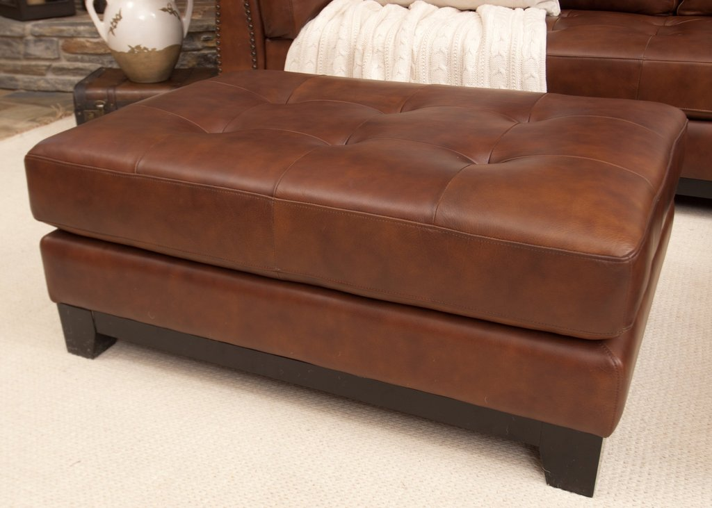 Coffee Table Simple Leather Tufted Ottoman Coffee Table Square Leather Ottoman Coffee Table