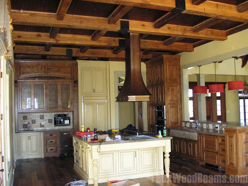 Coffered Ceiling Faux Wood Workshop Decorative Copper Ceiling Tiles Tips