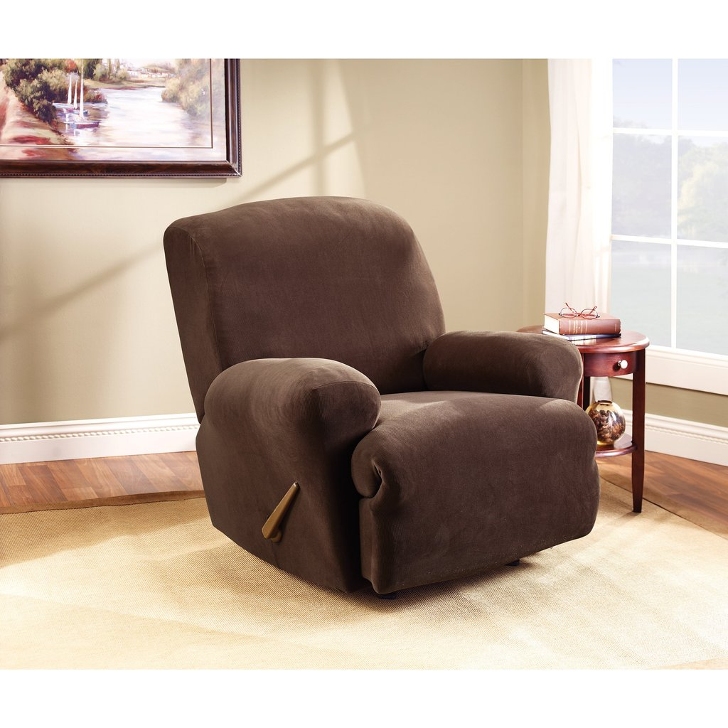 Collection Protective Fleece Recliner Furniture Cover How A Reclining Sofa To Function Properly