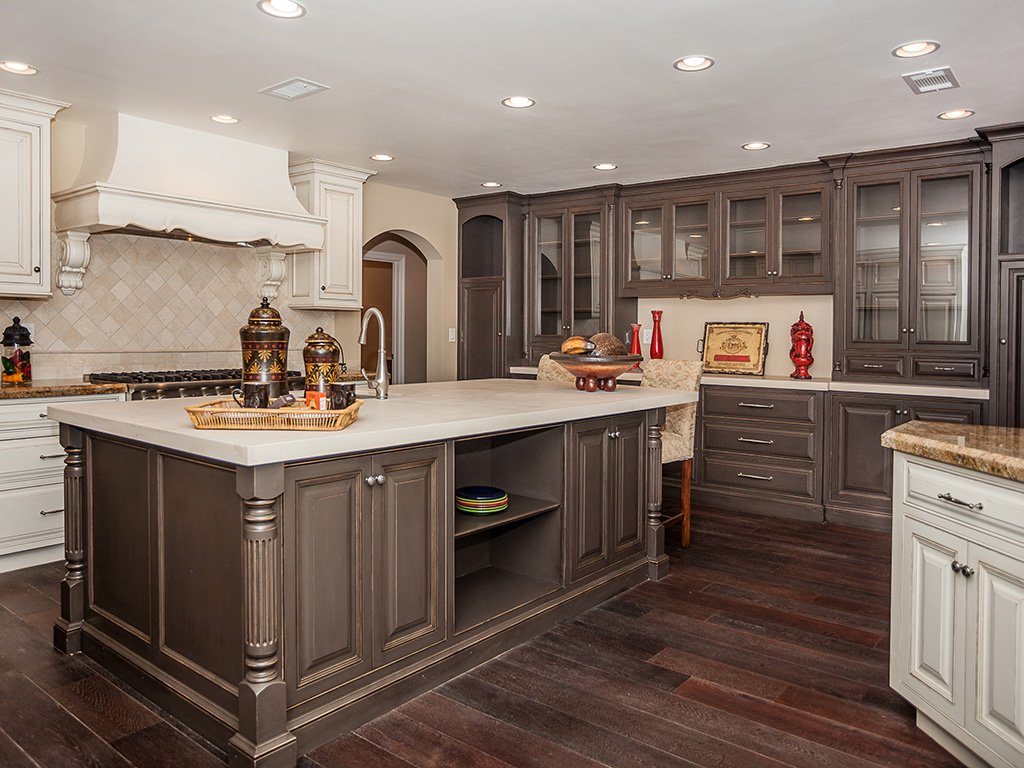 Color Kitchen Cabinet Idea Hawk Haven Kitchen Cabinet Hardware Pulls Installation