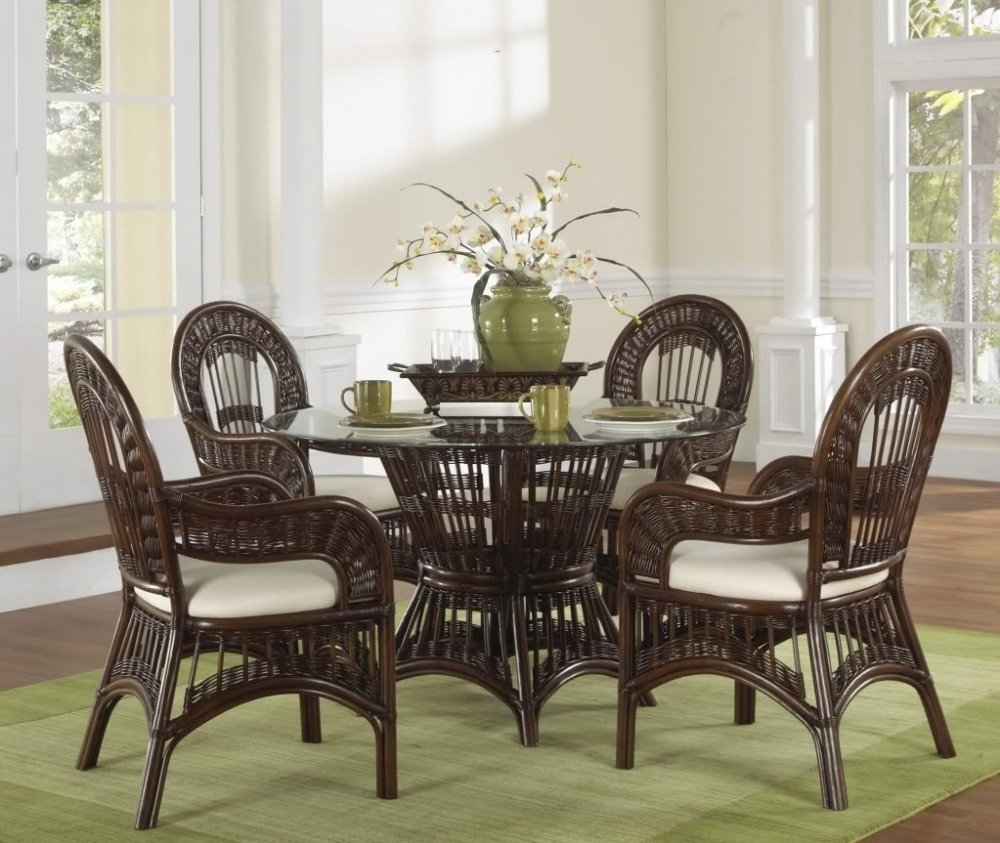 Comfortable Indoor Rattan Dining Chair How To Repair Rattan Dining Chairs