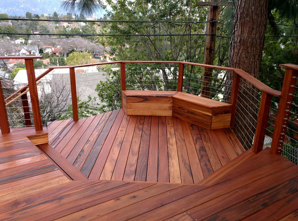 Constructing Wood Deck Costs Pro Con Tiger Wood Flooring For A Warmer Home