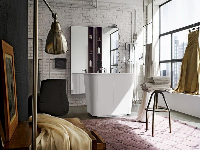 Cool Interior Exposed Brick Wall Woo Design How To Clean A Tufted Velvet Sofa