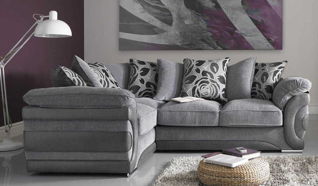 Corner Sofa   Beds Fabric Leather Corner Sectional Sofas For Small Spaces Modern
