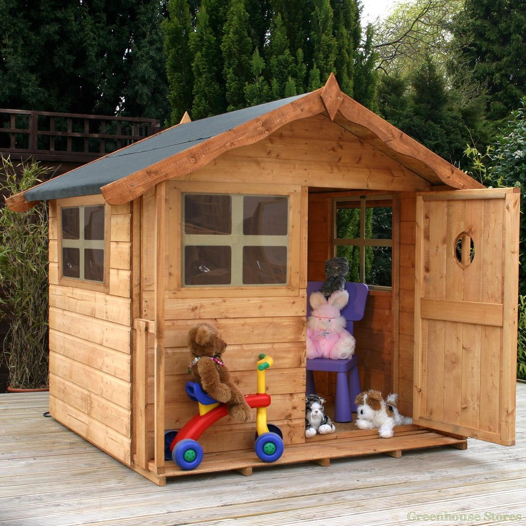 Cotswold 5x5 Tulip Playhouse Greenhouse Store Kids Outdoor Wooden Playhouse Ideas