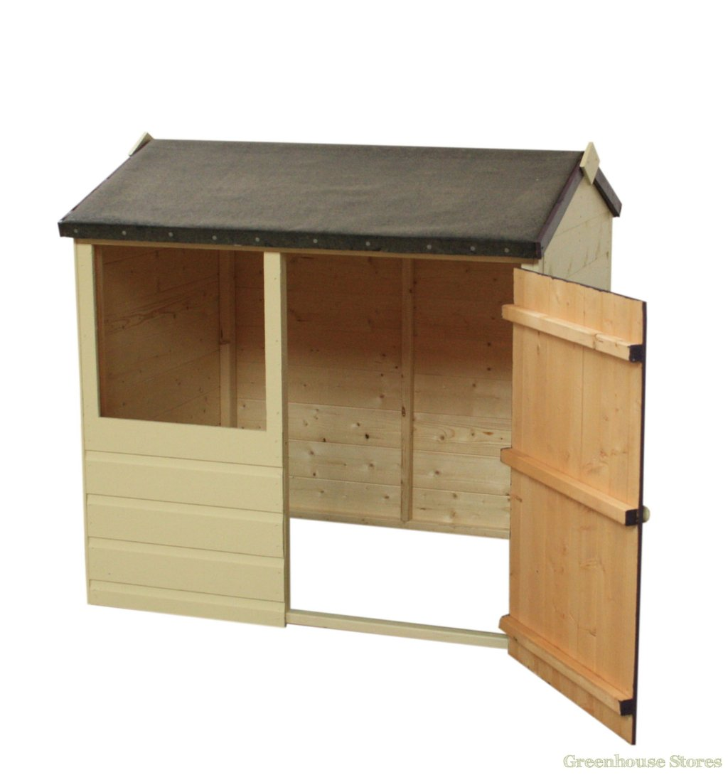 Cotswold Jasmine Playhouse Greenhouse Store Durability Of Kids Wooden Playhouse