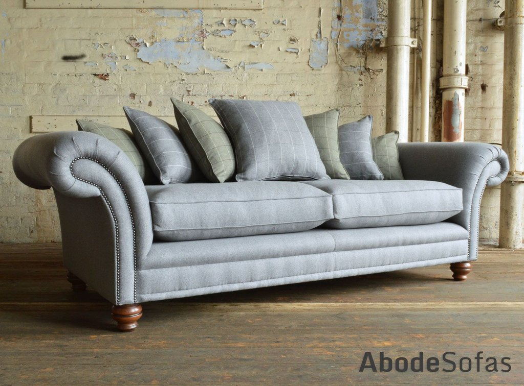 Cotswold Wool Chesterfield Sofa Scatter Cushion Velvet Chesterfield Sofa Ideas