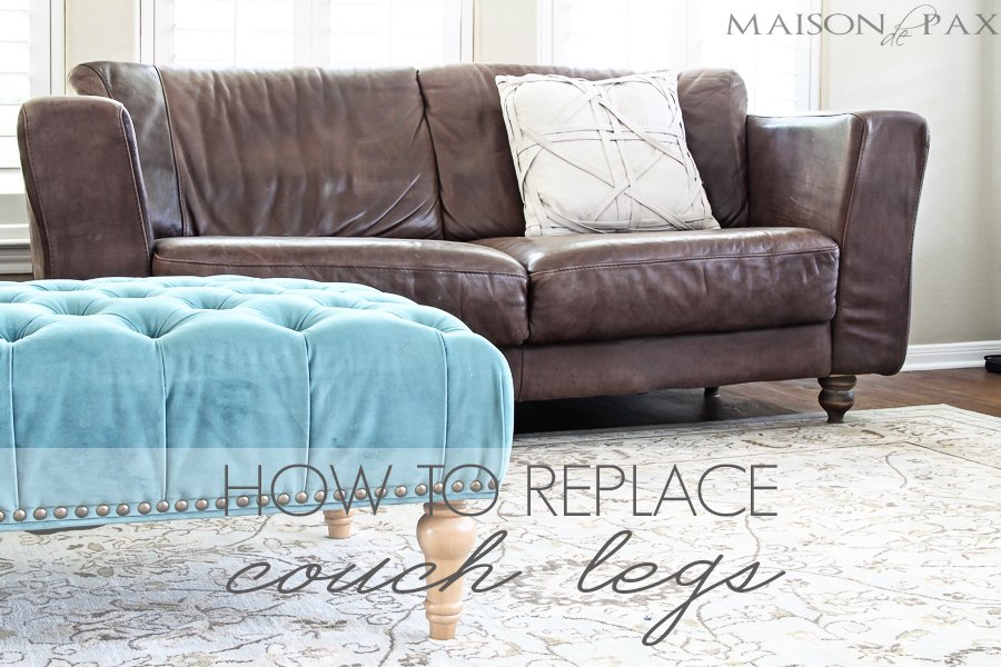 Couch Leg Blog Bar Height Table Legs Decor