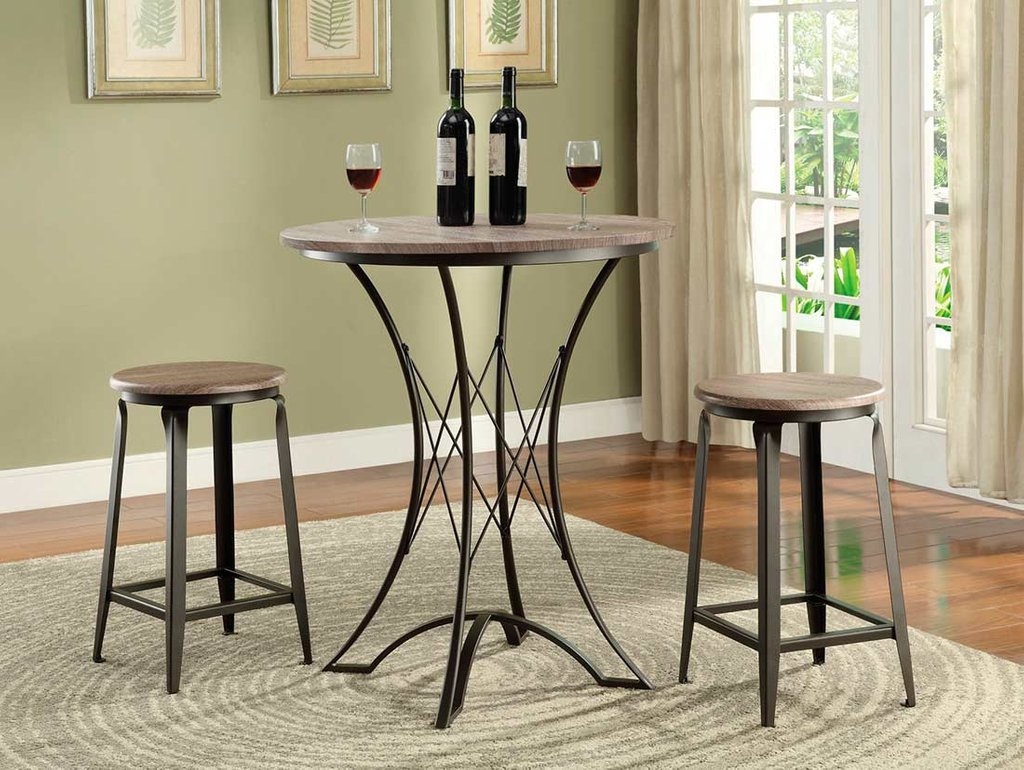 Counter Top Table Stool Set Co006 Bar Counter Height Kitchen Tables Design