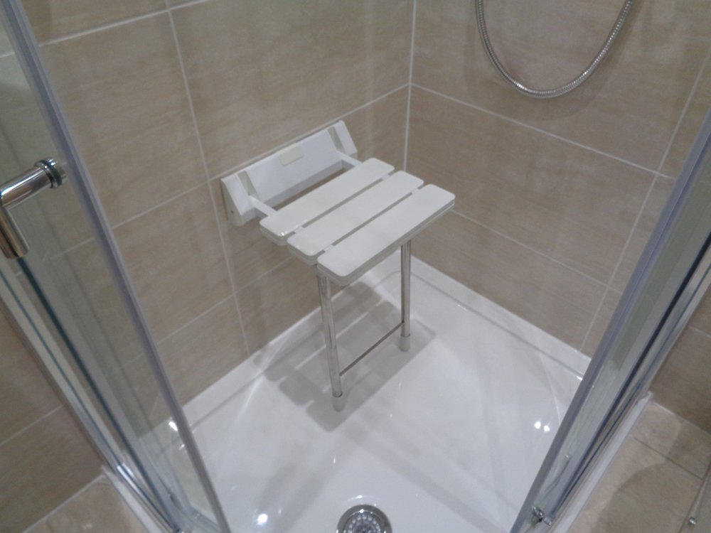 Coventry Bathroom Shower Wall Mounted Shower Chair Is Travertine Tiles Good For The Bathroom?