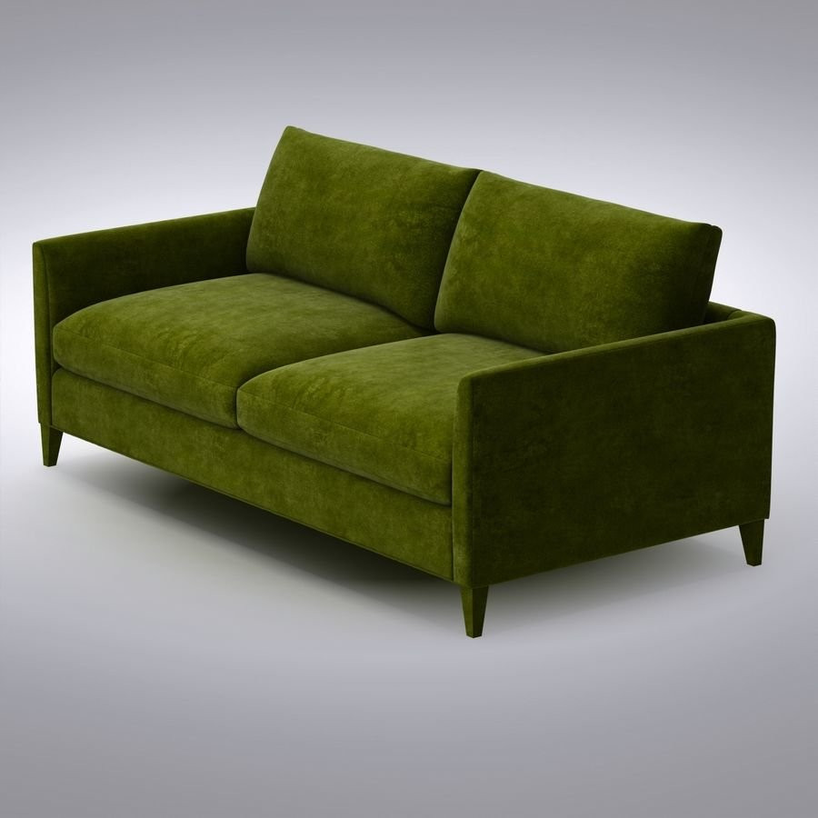 Crate Barrel Klyne Sofa 3d Model 39 Max Free3d Tuxedo Sofa Crate And Barrel