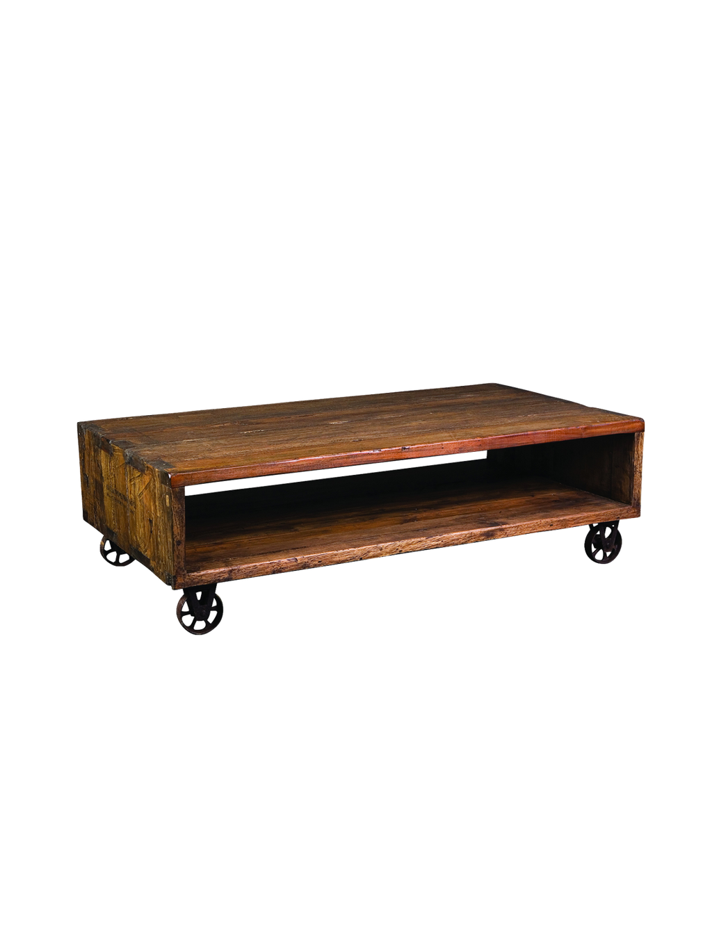 Cube Cart Coffee Table Alliance Furniture Trading Antique Of Reclaimed Wood Coffee Tables