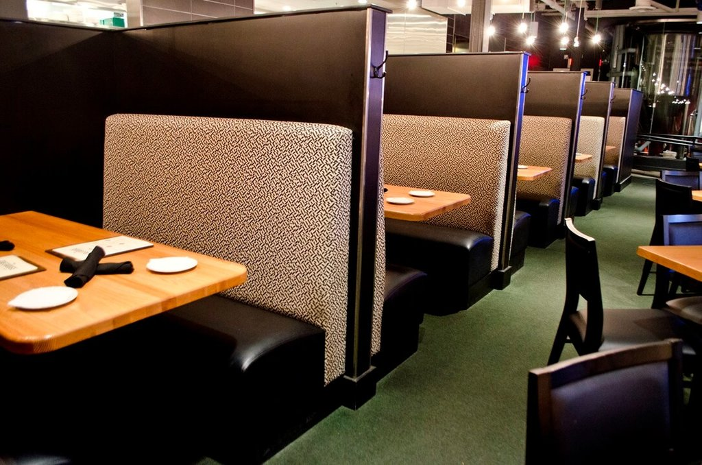 Custom Restaurant Booth Upholstered Booth Banquette Restaurant Table Tops Plan