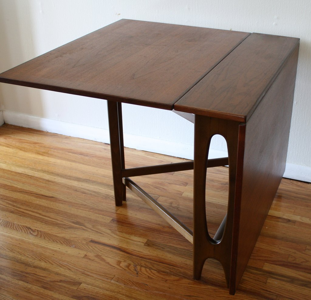Danish Folding Dining Table 3 Picked Vintage Best Foldable Dining Table